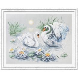 Набор для вышивки крестом Чудесная игла 130-061 Свадебный вальс