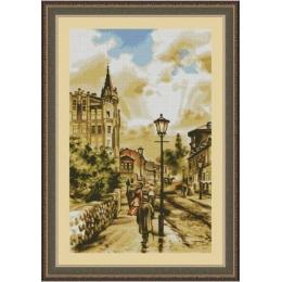 Киев. Замок Ричарда - Dantel - набор для вышивки крестом