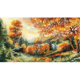 Набор для вышивки крестом - РИОЛИС - 1314 Багряный лес