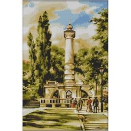 Киев. Памятник Магдебургскому праву - Dantel - набор для вышивки крестом