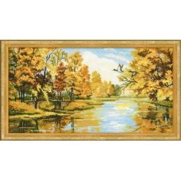 Тихая осень - РИОЛИС - набор для вышивки крестом