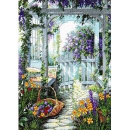 Набор для вышивки крестом - Dimensions - 13692 Садовые ворота / Garden Gate