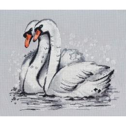 Набор для вышивки крестом - Овен - 1393 Верность