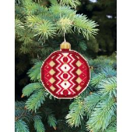 Набор для вышивания крестом Crystal Art Т-14 Серия Счастливого Рождества