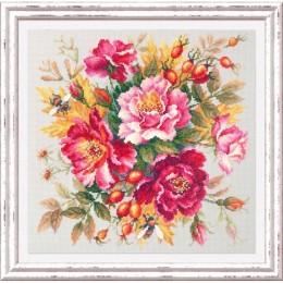 Магия цветов. Шиповник - Чудесная игла - набор для вышивки крестом