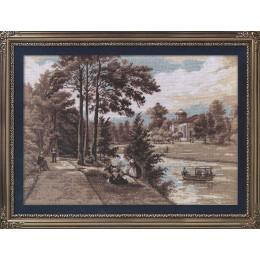 Набор для вышивки крестом - PANNA - ПС-1417 Отдых на берегу реки