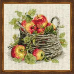 Набор для вышивки крестом - РИОЛИС - 1450 Спелые яблоки
