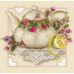 Чай с лимоном - РИОЛИС - набор вышивки крестом