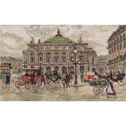 Набор для вышивки крестом - PANNA - ГМ-1481 Париж. Гранд Опера
