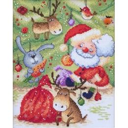 Набор для вышивки крестом - Марья искусница - 15.001.09 Новогодняя