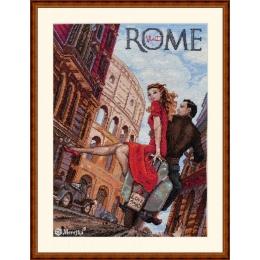 Набор для вышивки крестом - ТМ Мережка - К-180 Visit Rome