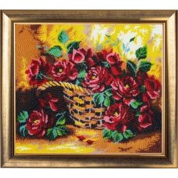 Набор для вышивки бисером - Butterfly - №181 Солнечные розы