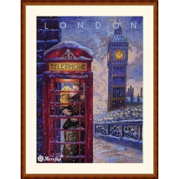 Набор для вышивки крестом - ТМ Мережка - К-182 Visit London