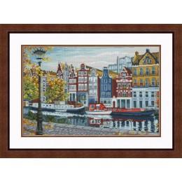 Набор для вышивки крестом - OLanTa - VN-183 Амстердам
