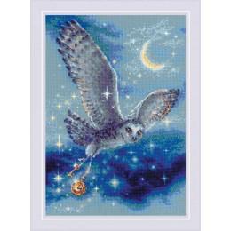 Волшебная сова - РИОЛИС - набор для вышивки крестом
