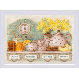 Tea Time - РИОЛИС - набор вышивки крестом
