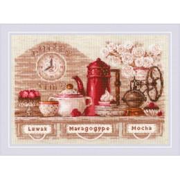 Coffee Time - РИОЛИС - набор вышивки крестом