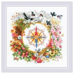 Набор для вышивки крестом - РИОЛИС - 1881 Компас