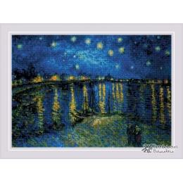 Набор для вышивки крестом - РИОЛИС - 1884 Звездная ночь над Роной