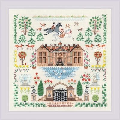 Набор для вышивки крестом - РИОЛИС - Мой дом