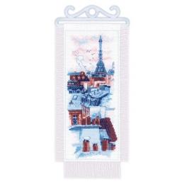 Набор для вышивки крестом - Риолис - 1952 Крыши Парижа