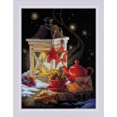 Набор для вышивки крестом - РИОЛИС - 1977 Зимний чай