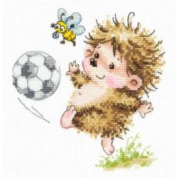 Буду футболистом - Чудесная игла - набор для вышивки крестом
