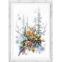 Набор для вышивки крестом - Чудесная игла - 200-017 Дух зимнего леса