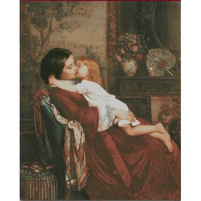 Набор для вышивки крестом - ТМ Фантазия - Мать и дитя