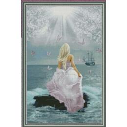 Розовая мечта - Фантазия ТМ - набор для вышивки крестом