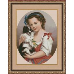 Малышка - Фантазия ТМ - набор для вышивки крестом