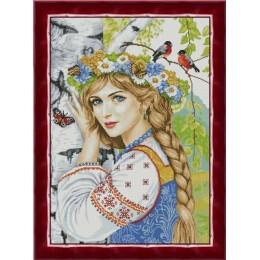 Набор для вышивки крестом - ТМ Фантазия - 200/147 Кудесница леса