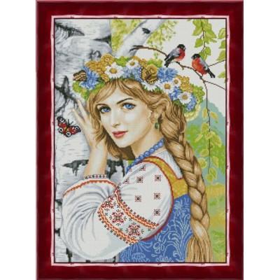 Набор для вышивки крестом - ТМ Фантазия - Кудесница леса