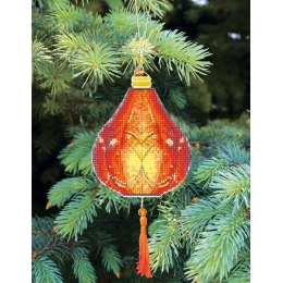 Набор для вышивания крестом Crystal Art Т-22 Серия Красочные фонарики