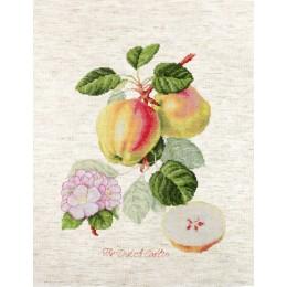 Яблоки - Luca-S - набор вышивки крестом