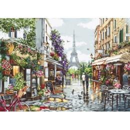 Цветущий Париж - Luca-S - набор для вышивки крестом