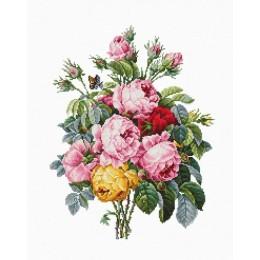 Розы (на Аиде 16) - Luca-S - набор для вышивки крестом