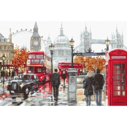 Набор для вышивки крестом - Luca-S - B2376 Лондон