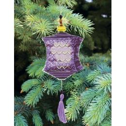 Набор для вышивания крестом Crystal Art Т-24 Серия Красочные фонарики