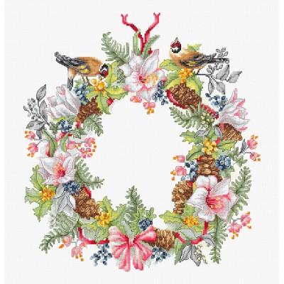 Набор для вышивки крестом Luca-S B2401 Декабрь