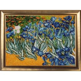 Полевые ирисы (по мотивам В. Ван Гога) - Butterfly - набор для вышивки бисером