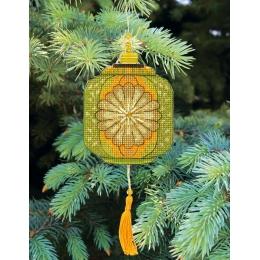 Набор для вышивания крестом Crystal Art Т-27 Серия Красочные фонарики