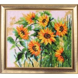 Набор для вышивки бисером - Butterfly - №284 Подсолнухи (по картине О. Дарчук)