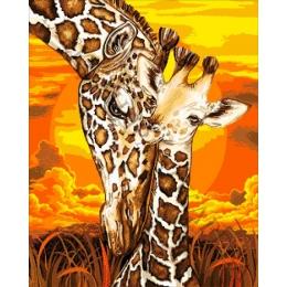 Авторский набор для вышивки бисером - Токарева А. - 30-2622-НЖ Жаркая Африка