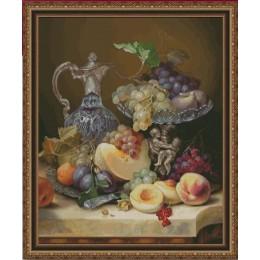 Набор для вышивки крестом - Фантазия ТМ - 300/22 Натюрморт с фруктами