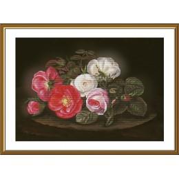 Симфония роз - Новая Слобода - набор вышивки крестом