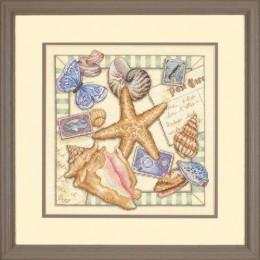 Shell Collection / Коллекция Ракушек - Dimensions - набор для вышивки крестом