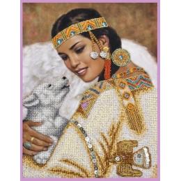 Набор для вышивки бисером - Картины бисером - Р-393 Преданный друг