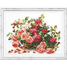 Королевские розы - Чудесная игла - набор для вышивки крестом