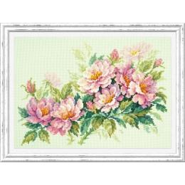 Розовый шиповник - Чудесная игла - набор для вышивки крестом